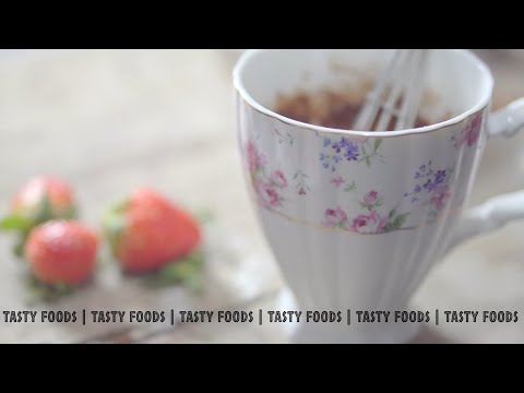 Mug Cake | Mug Chocolate Cake | Mug Cake In Microwave | Mug Cake Recipe | Tasty Foods | 4k