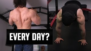 Try High Frequency Pushups and Pullups!