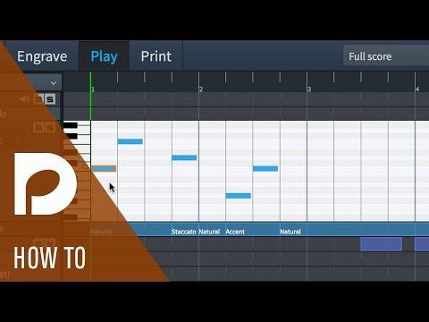 Using the Piano Roll in Dorico | Play Mode in Dorico