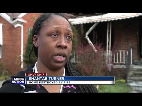 Mother of 3 says children's father set fire to home