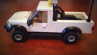 Lego Toyota pick up truck MOC