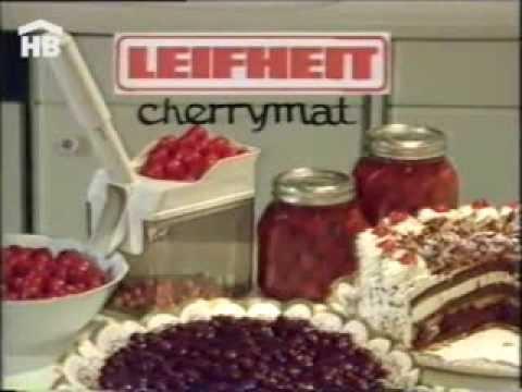 Отделитель косточек <b>LEIFHEIT</b> CHERRYMAT - YouTube