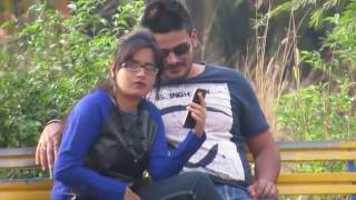 Desi lover funny seen in public park  ///Desi Mirchi-Masala video ///