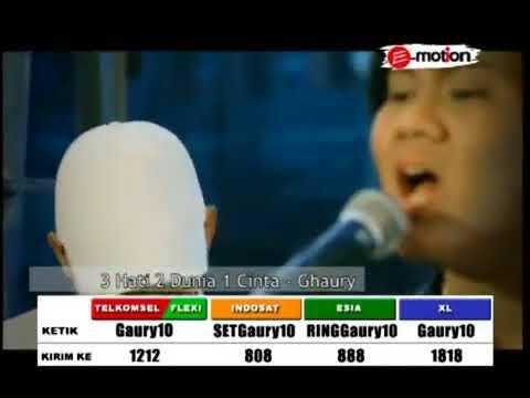 Ghaury   3 Hati 2 Dunia 1 Cinta Official Video