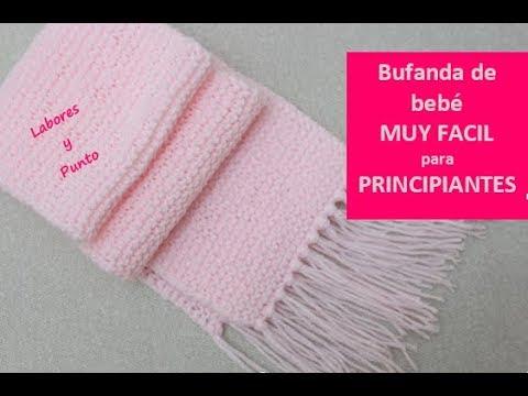 Venta de liquidación profesional de venta caliente real mejor valorado Como tejer una bufanda para bebe muy fácil en dos agujas