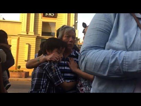 Powerful earthquake shakes Mexico City