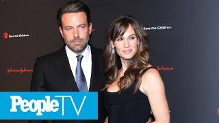 Ben Affleck On Jennifer Garner 'Important For My Kids To Know I Respect & Care About Her' | PeopleTV