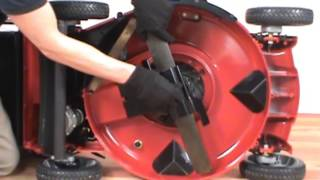Replacing the Blade - Toro Lawn Mower