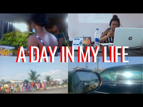 LAGOS LIVING DIARY| A day in my life at work, Lagos after lockdown, Essential worker in LAGOS