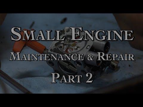 Small Engine Repair Part 2
