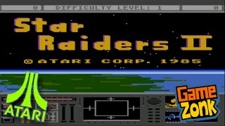 Star Raiders II - Atari XL/XE - Review and Walkthrough