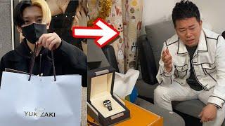 【号泣嗚咽】宮迫さんが過去に盗まれた腕時計をサプライズで渡したらガチ泣きしてなにも話せなくなった…