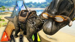 Ark Survival Evolved E13 - Bronto Taming! - How to tame a Brontosaurus Gameplay 1080p HD