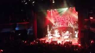 BABYMETAL - Head bangya ( Yui singing ) - Cigale Paris 01/07/2014 2/3 nice view 4K [HD]