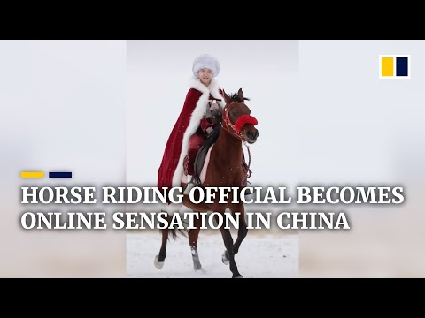 Horse riding official becomes online sensation in China with viral videos