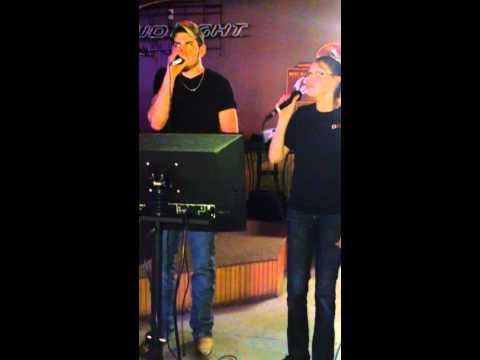 Jake and Sarah karaoke w/ BSE