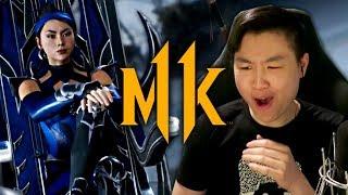 Mortal Kombat 11 - Kitana & D'Vorah Reveal Trailer!! [REACTION]