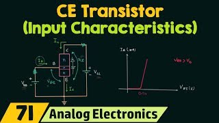 Common-Emitter Transistor (Input Characteristics)