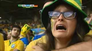 "Reaction of Brazil Fans in World Cup 2014 loss - ""Sound of Silence"""
