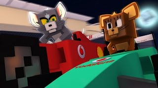 MINECRAFT TOM E JERRY | CORRIDA DE CARROS |