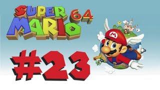 Vamos a jugar Super Mario 64 Parte 23 - Volando entre las nubes