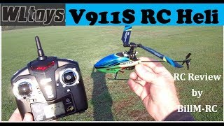 WLtoys V911S RC Helicopter review & maiden flight