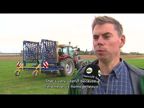 Mechanical weedcontrol in cereals