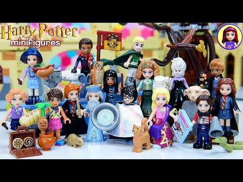 Lego Harry Potter Minifigure Series Complete Set Silly Dress Up into Minidolls