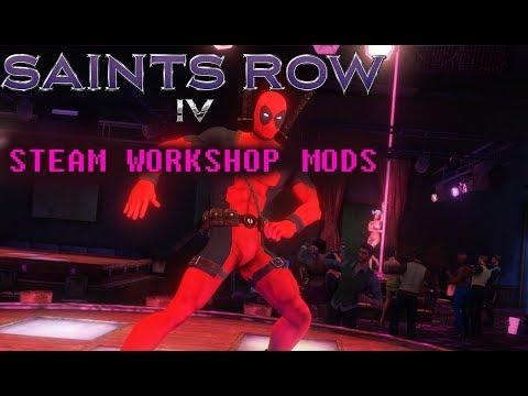 Saints row 4 steam моды