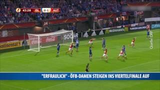 Historisch: ÖFB-Frauen-Nationalteam im EM-Viertelfinale