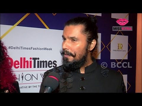 Randeep Hooda on his regal look created by Bharat Reshma at Delhi Times Fashion Week