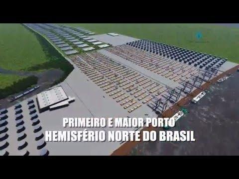 Amapá pode sediar maior porto de cargas do Norte.