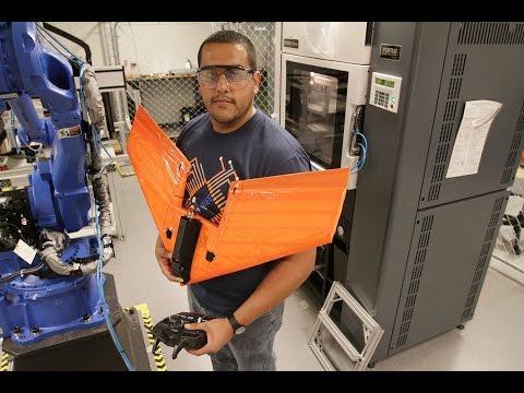3-D Printing UAVs