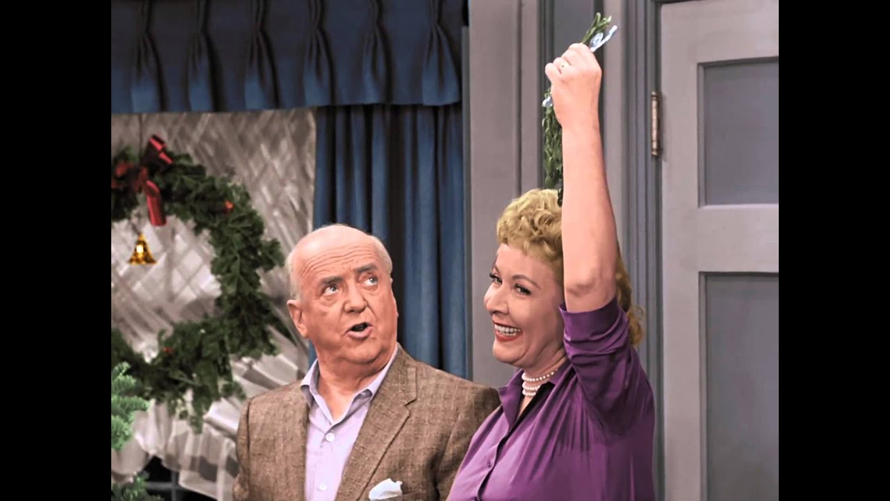 i love lucy christmas special under the mistletoe - I Love Lucy Christmas Special