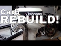 Johnson/Evinrude 15 hp Outboard Engine Carburetor Rebuild