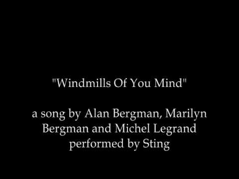 Sting - Windmills Of Your Mind