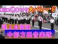 陸上自衛隊中部方面音楽隊 第46回堺まつり大パレード2019年