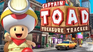 Die Super Mario Odyssey Level! | Captain Toad: Treasure Tracker