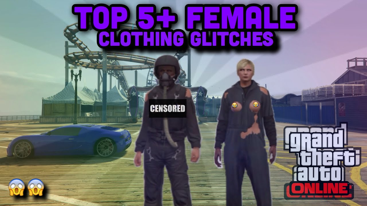 GTA ONLINE- TOP 5+ FEMALE CLOTHING GLITCHES! (RARE. FEMALE OUTFITS) CLOTHING GLITCH 1.35 - YouTube
