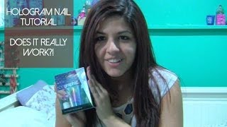 Holographic Nail Tutorial!   Does it Really Work?! Thumbnail