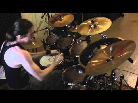 Death metal Recording drum session pt1