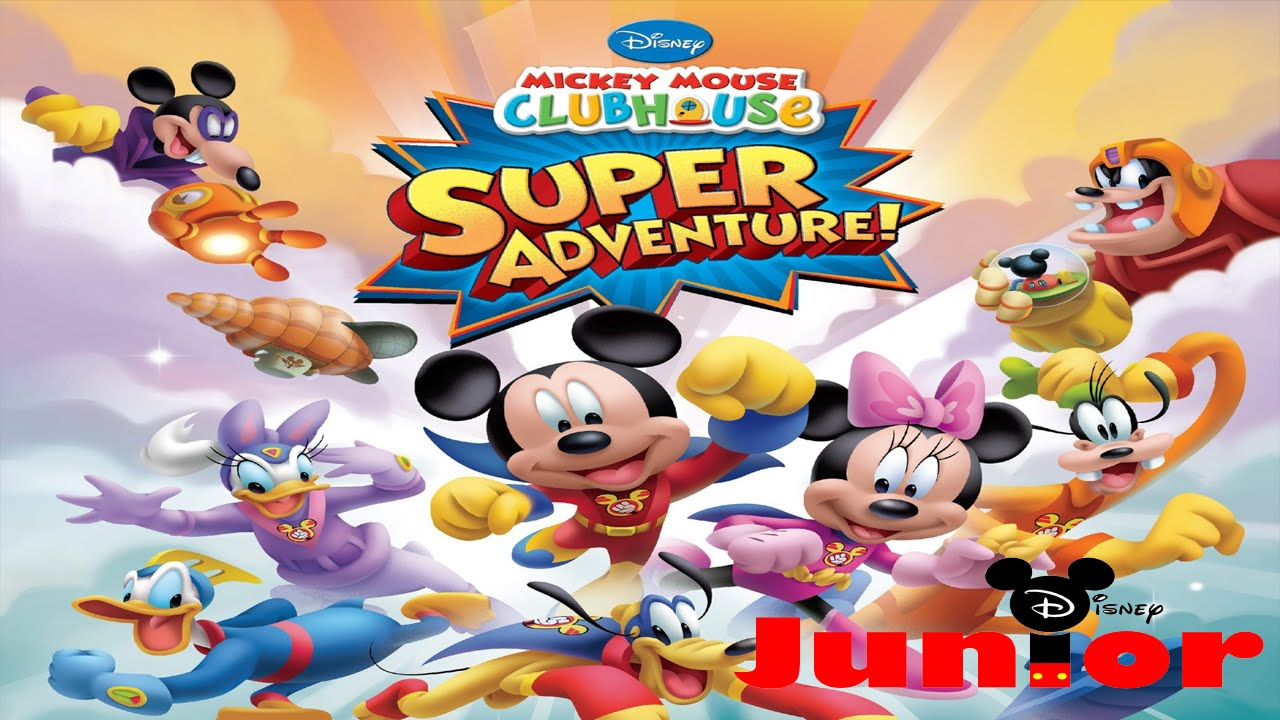 Mickey Mouse Clubhouse - Mickey's Super Adventure ...