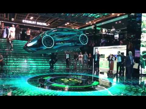 Gitex 2018 Technology Flying Car In Dubai Youtube