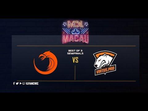 TNC Pro Team vs Virtus.Pro Game 1 (BO3)   MDL Macau