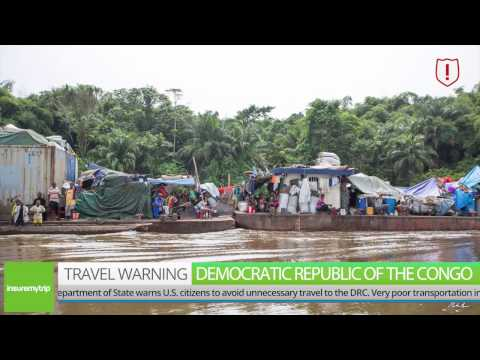 Democratic Republic of the Congo Travel Warning — March 2017