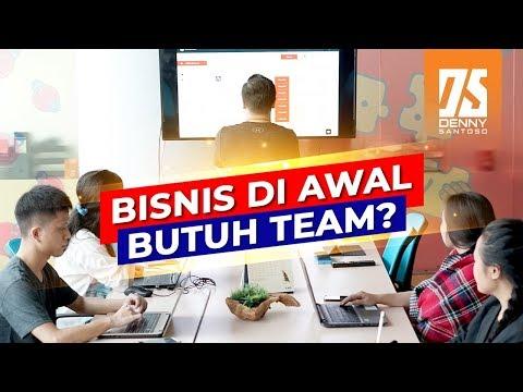 Bisnis Di Awal Butuh Team? - Cara Membangun Tim Bisnis