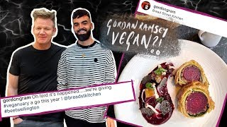 IS GORDON RAMSAY VEGAN?!