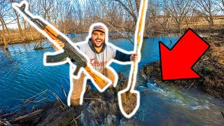 I Finally BLEW UP the GIANT BEAVER DAM at My FARM!!! (Slo-Mo Explosions)
