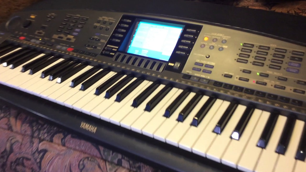 kris nicholson 39 s yamaha psr 8000 in super mint condition. Black Bedroom Furniture Sets. Home Design Ideas