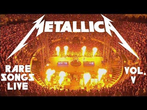 10 Rare Metallica Songs Played LIVE - Vol. 5